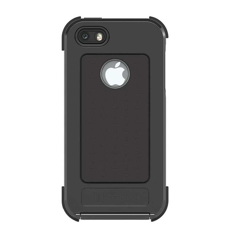 Dog and Bone Wetsuit iPhone 5/5S Black - 2