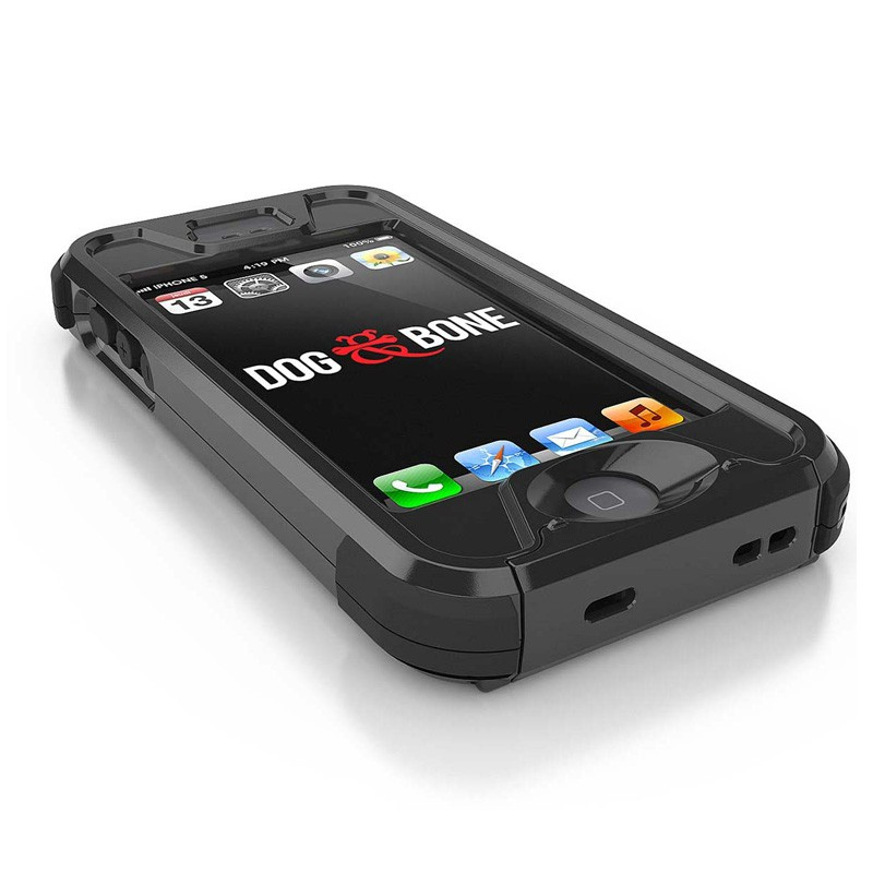 Dog and Bone Wetsuit iPhone 5/5S Black - 4