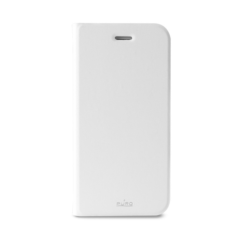 Puro Eco Leather Wallet iPhone 6 White - 1