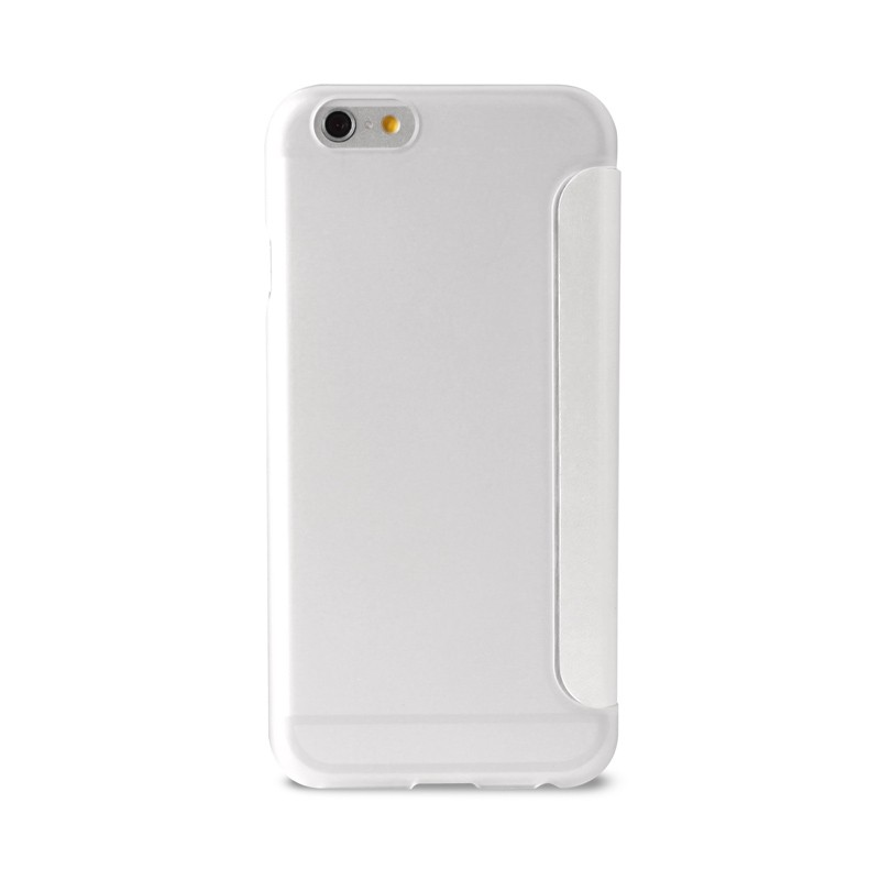 Puro - Eco Leather Wallet iPhone 6 White - 2