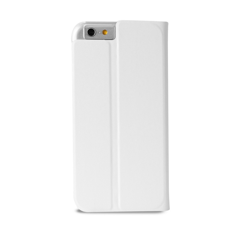 Puro Eco Leather Wallet iPhone 6 White - 2