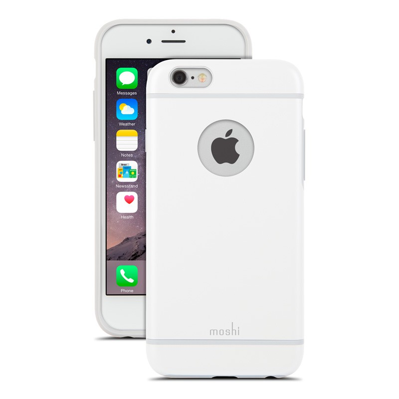 Moshi iGlaze iPhone 6 White - 1