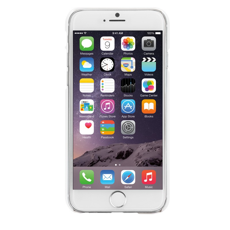 Case-Mate Barely There iPhone 6 White - 2