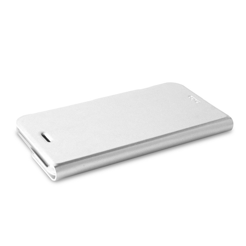 Puro Eco Leather Wallet iPhone 6 White - 7