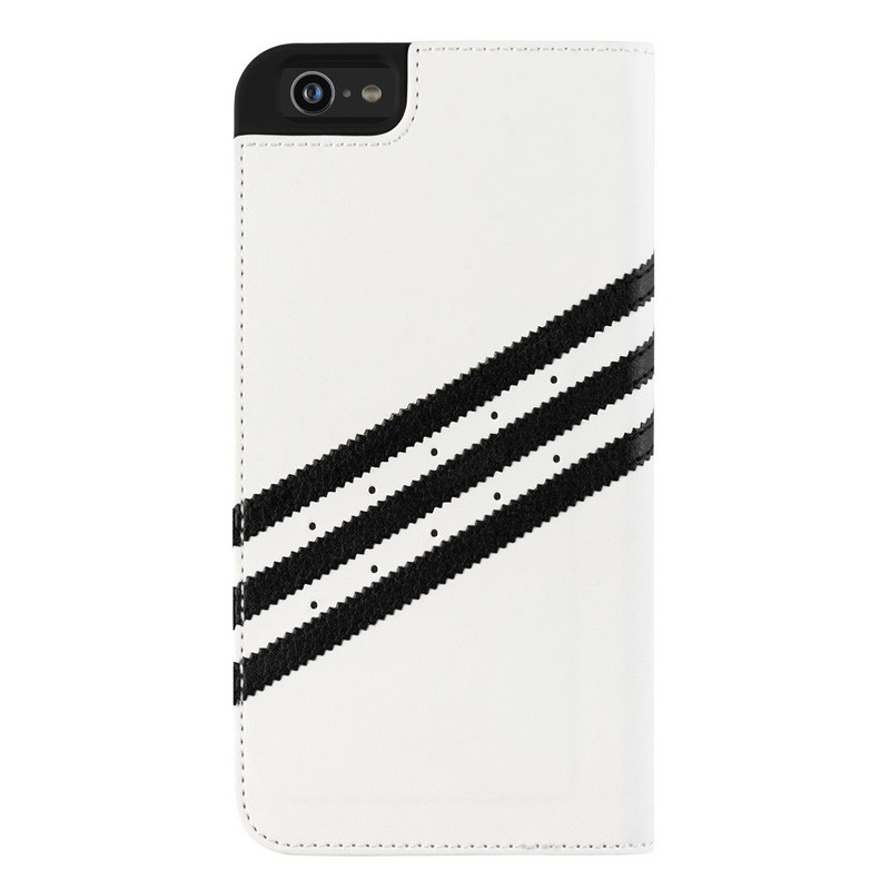 Adidas Booklet Case iPhone 6 Plus White/Black - 2