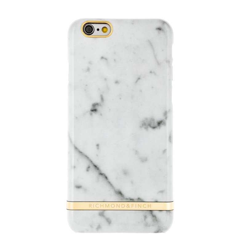 Richmond & Finch White Marble Case iPhone SE / 5S / 5 - 1