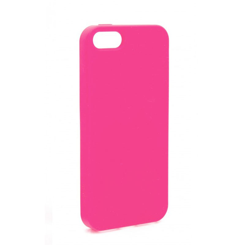 Xqisit Soft Grip Case iPhone 5 (Pink) 01