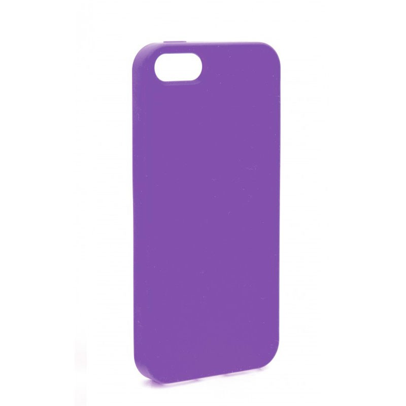 Xqisit Soft Grip Case iPhone 5 (Purple) 01