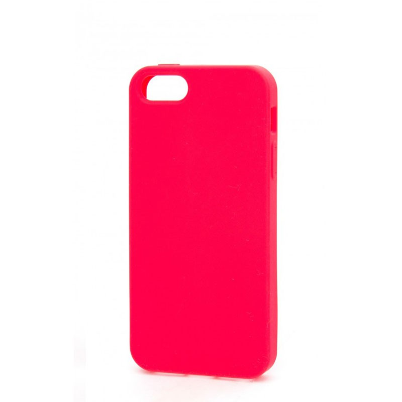 Xqisit Soft Grip Case iPhone 5 (red) 03