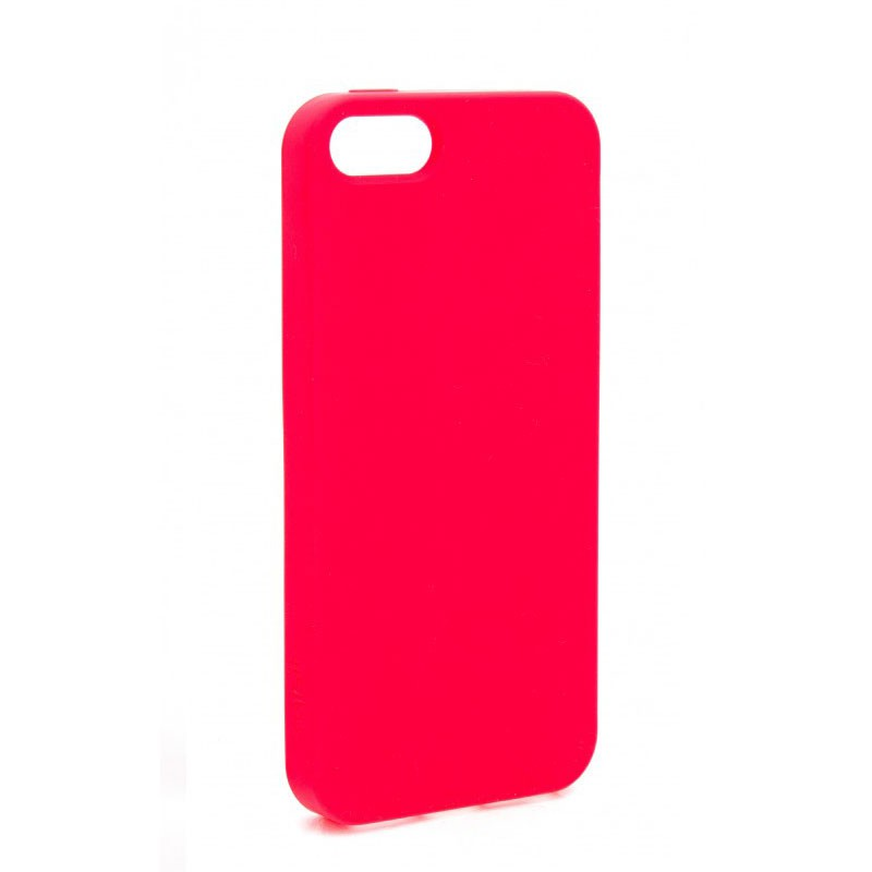 Xqisit Soft Grip Case iPhone 5 (red) 01