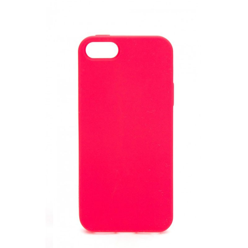 Xqisit Soft Grip Case iPhone 5 (red) 02