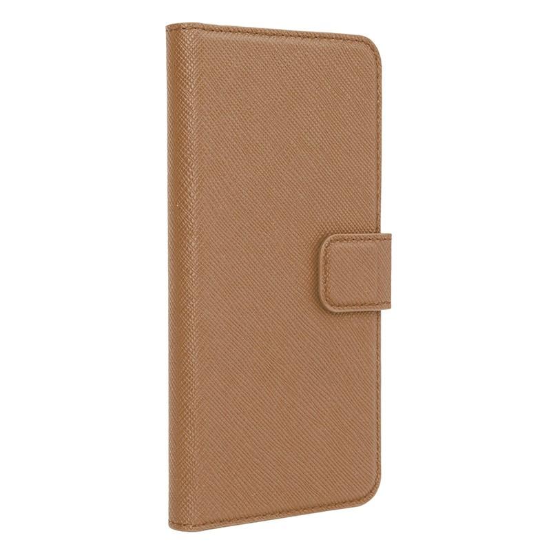 Xqisit - Wallet Case Viskan iPhone 6 Plus / 6S Plus Brown 01