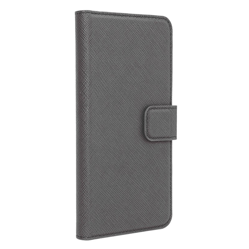 Xqisit - Wallet Case Viskan iPhone 6 Plus / 6S Plus Grey 01