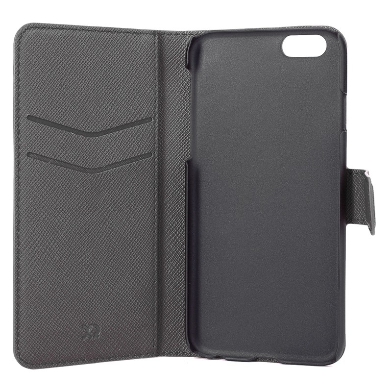 Xqisit - Wallet Case Viskan iPhone 6 Plus / 6S Plus Grey 05