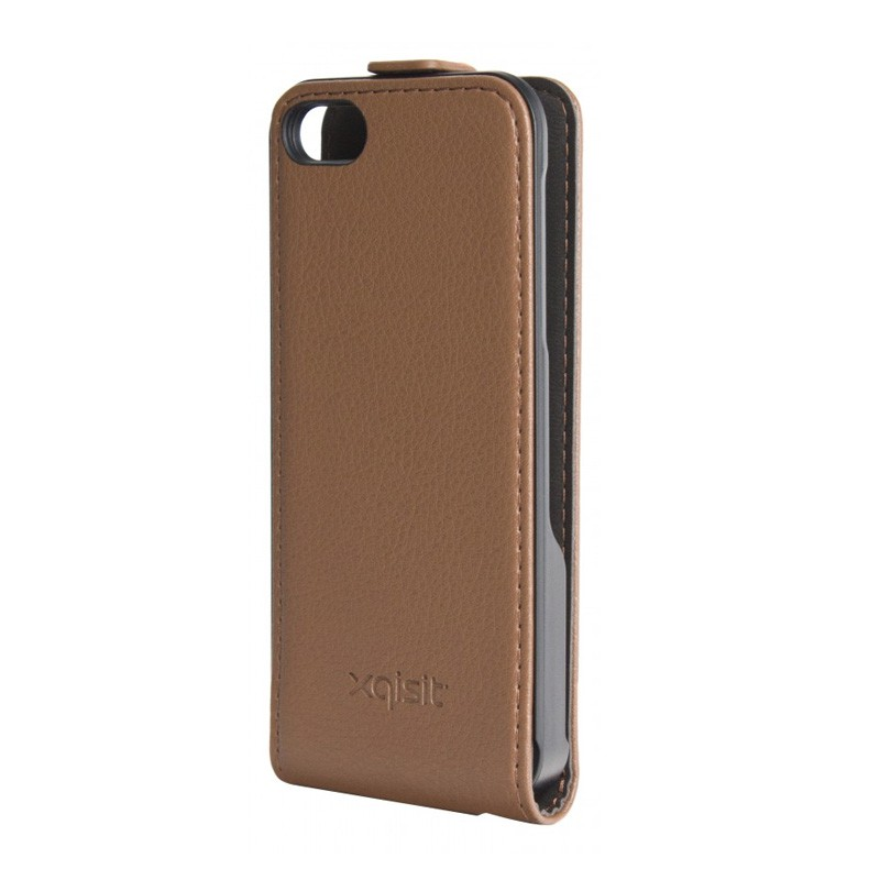 Xqisit Flipcover iPhone 5 Brown - 2