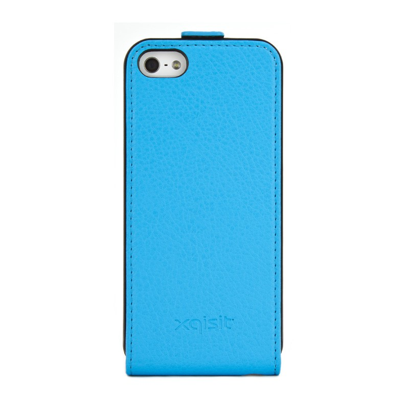 Xqisit Flipcover iPhone 5 Blue - 1