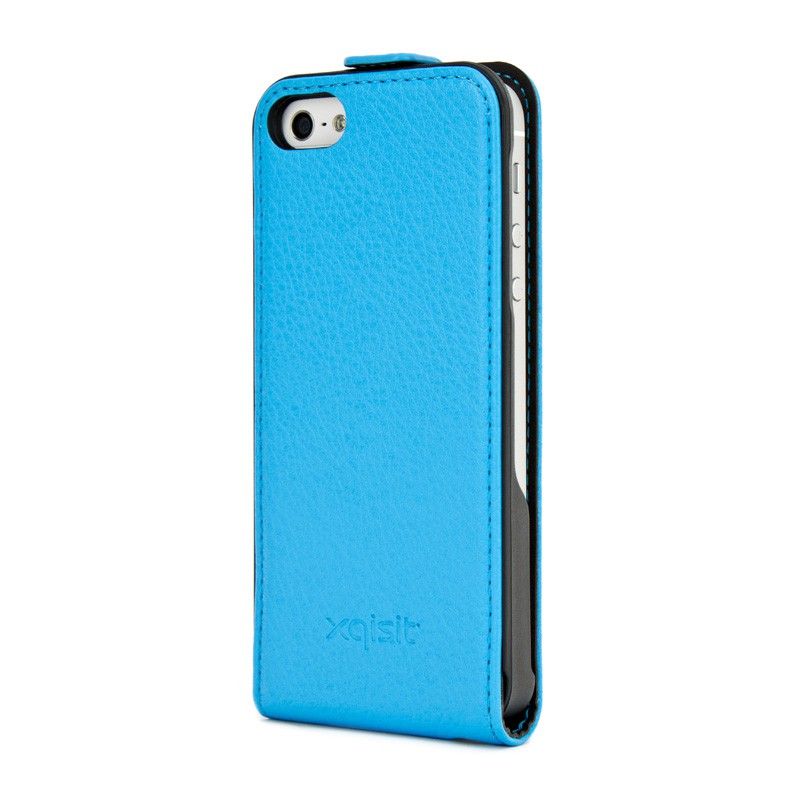 Xqisit Flipcover iPhone 5 Blue - 2