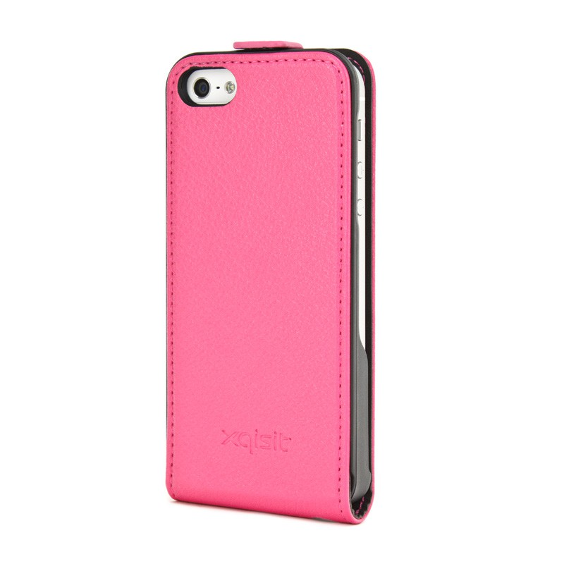 Xqisit Flipcover iPhone 5 Pink - 2