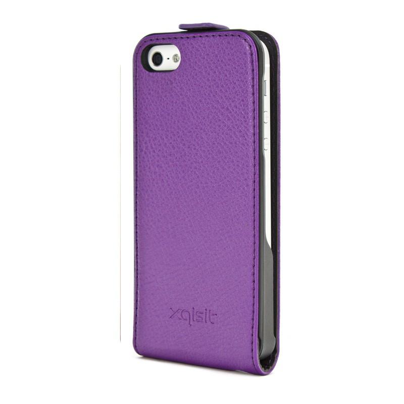 Xqisit Flipcover iPhone 5 Purple - 2