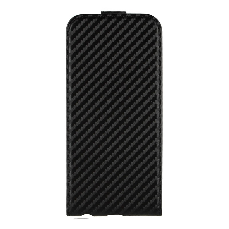 Xqisit FlipCover iPhone 6 Carbon Black - 1