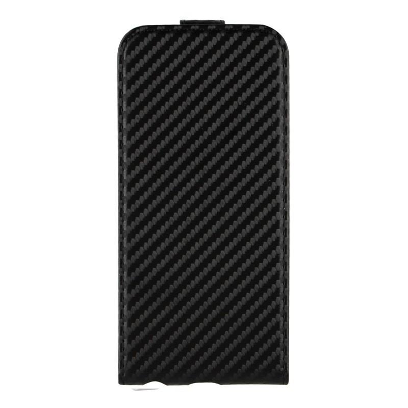 Xqisit FlipCover iPhone 6 Plus Carbon - 1