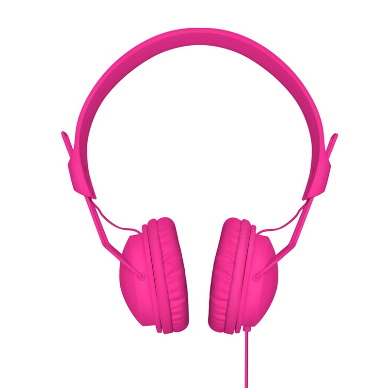 Xqisit HS Over-Ear Headset Pink - 1