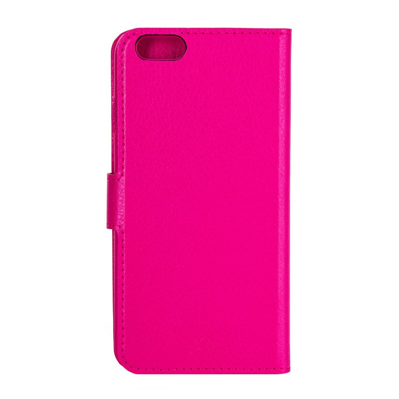 Xqisit Slim Wallet Case iPhone 6 Pink - 4