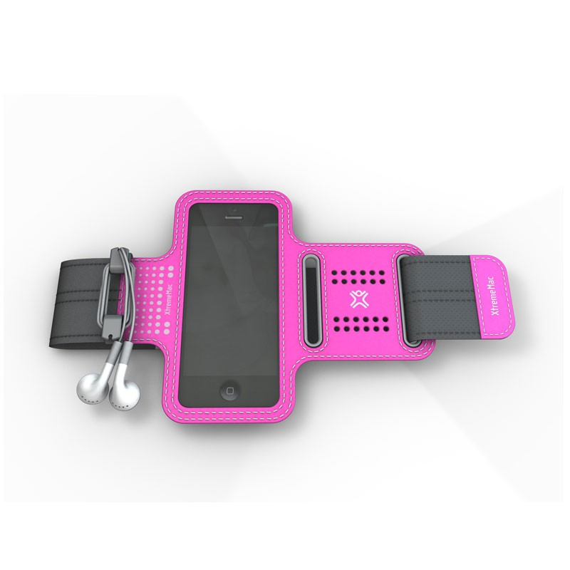 XtremeMac - Sportwrap iPhone 5 (Pink) 01
