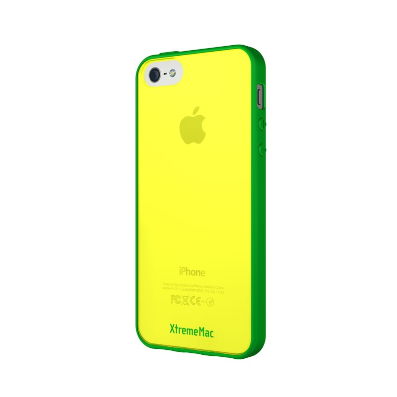 XtremeMac - Microshield Accent iPhone 5 (Yellow-Green) 02