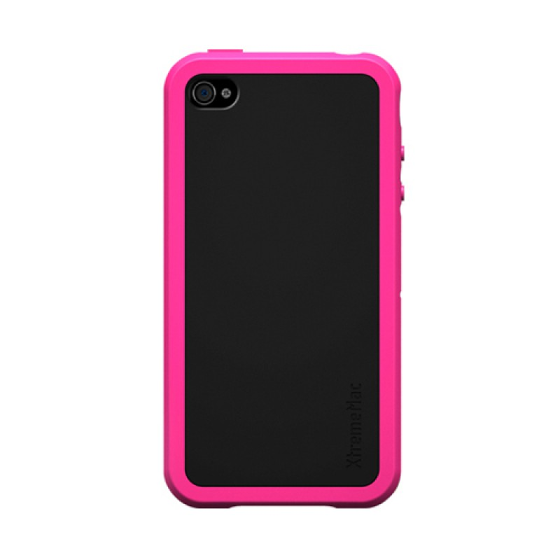 XtremeMac TuffWrap Accent iPhone 4 Pink - 1