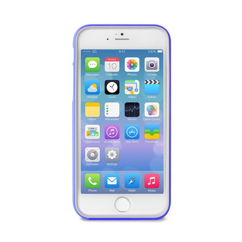 Puro Bumper Case iPhone 6 Blue - 1