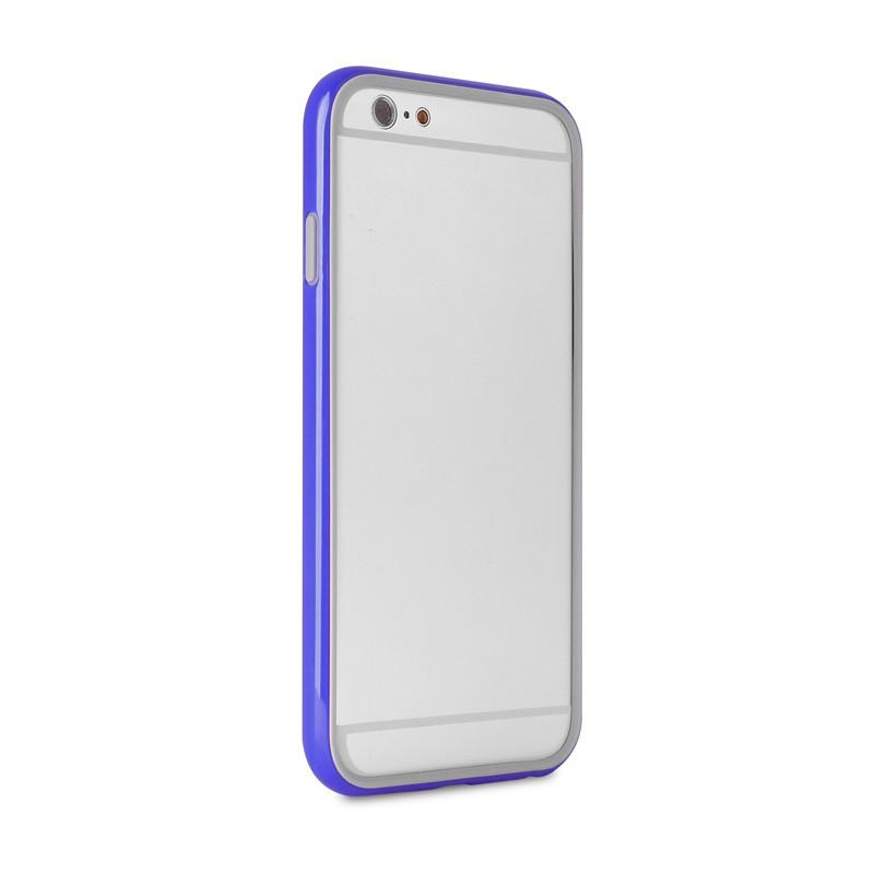 Puro Bumper Case iPhone 6 Blue - 5