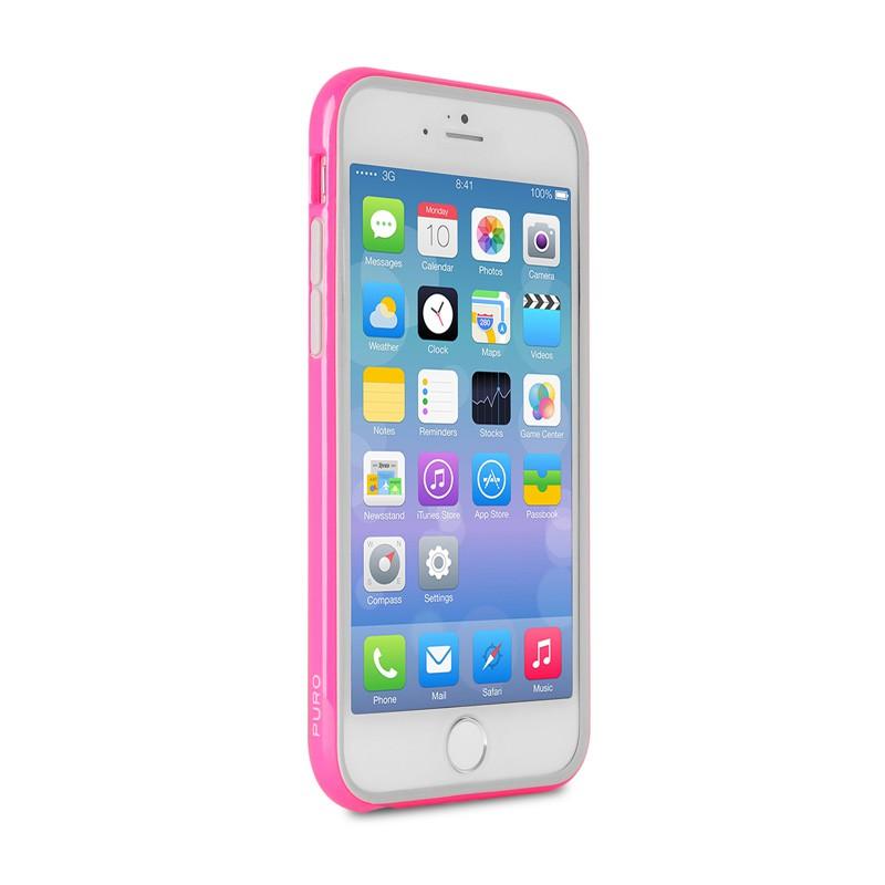 Puro Bumper Case iPhone 6 Plus Pink - 4
