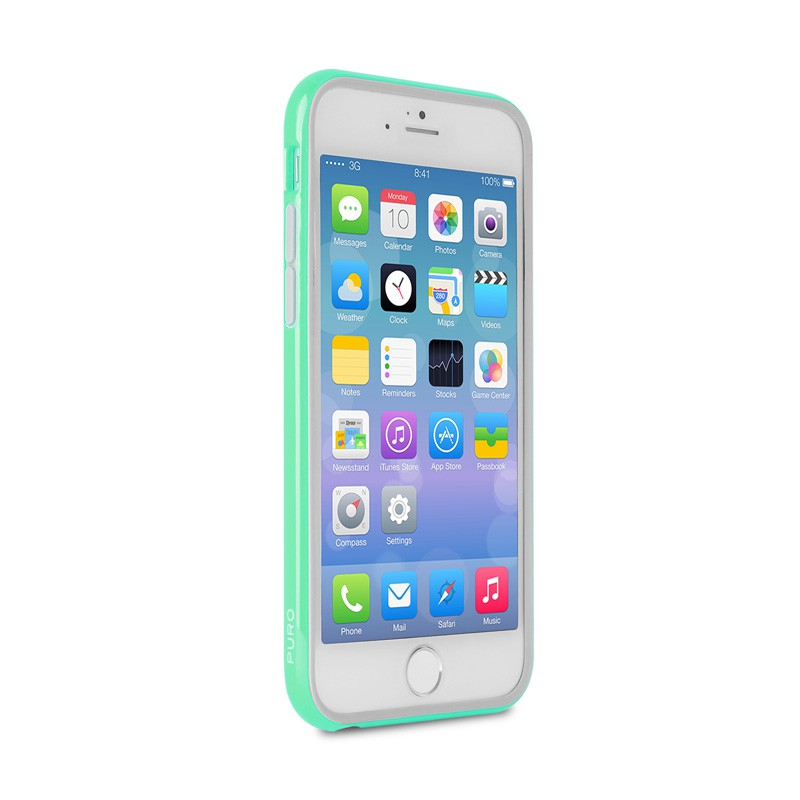 Puro Bumper Case iPhone 6 Turqoise - 4