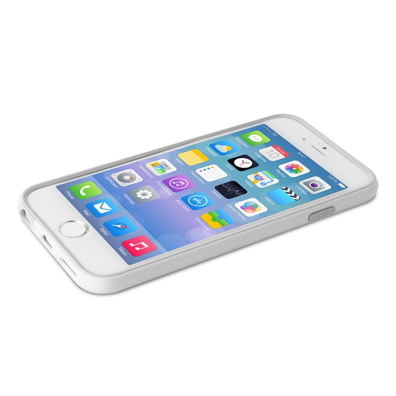Puro Bumper Case iPhone 6 Plus White - 3