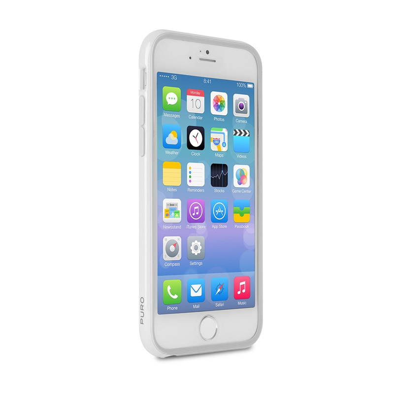 Puro Bumper Case iPhone 6 Plus White - 4