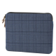 HEX - Laptopsleeve Canvas 13 inch Macbook Pro/Air Blue 01