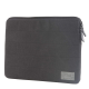 HEX - Laptopsleeve Canvas 13 inch Macbook Pro/Air dar charcoal 01