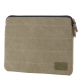 HEX - Laptopsleeve Canvas 13 inch Macbook Pro/Air Khaki 01