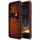Melkco Elite series Snap Back Pocket iPhone X Xs bruin 01