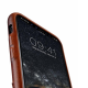 Melkco Elite series Snap Back Pocket iPhone X Xs bruin 04