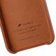 Melkco Elite series Snap Back Pocket iPhone X Xs bruin 07