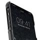 Melkco - Holmes Series Fine Grid Card Slot iPhone X/Xs Zwart/Wit 03