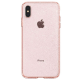 Spigen - Liquid Crystal Glitter Case iPhone XS Max Rose Transparant 02