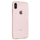 Spigen - Liquid Crystal Glitter Case iPhone XS Max Rose Transparant 04