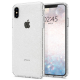 Spigen - Liquid Crystal Glitter Case iPhone XS Max Transparant 01