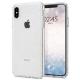 Spigen - Liquid Crystal Glitter Case iPhone XS Max Transparant 01