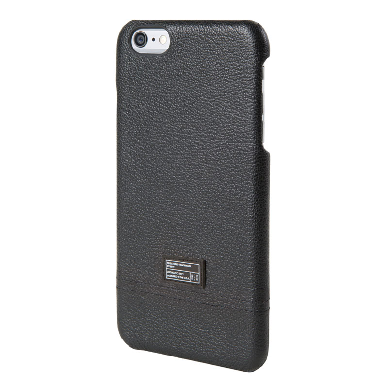 HEX Focus Backcover Black Woven Leather voor Apple iPhone 6 Plus-6s Plus