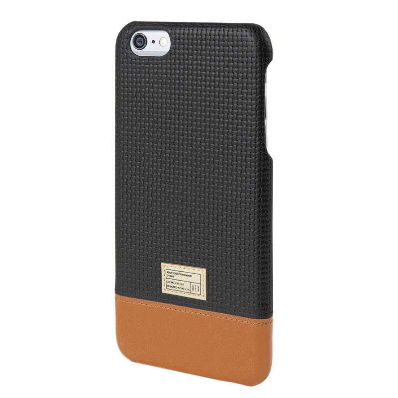 HEX Focus Backcover Black Leather voor Apple iPhone 6 Plus-6s Plus
