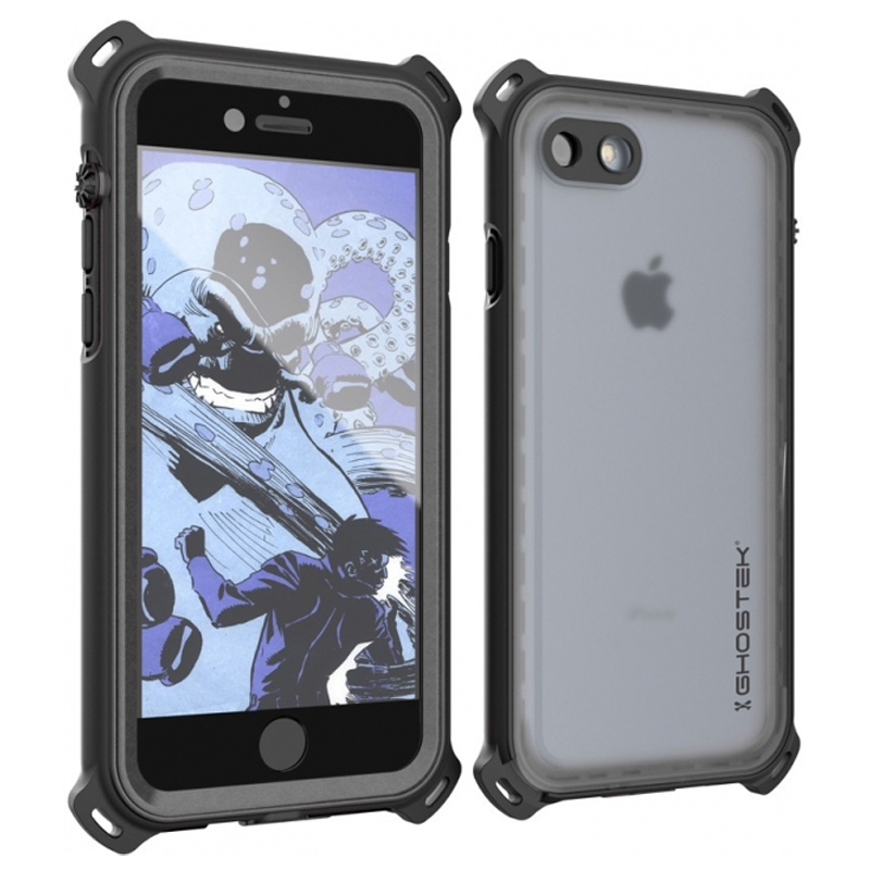 Ghostek Nautical Waterproof Case Apple iPhone 7 Black Ghostek